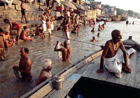 Hindus regard the ganges as the holiest of rivers it was named after