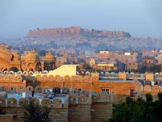 Magnificent fort/palace of Jaisalmer