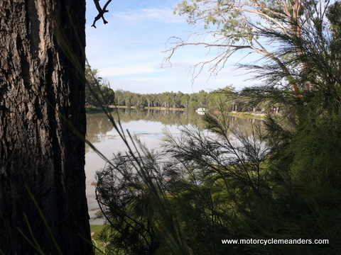 Murray River at Chowilla Homestead