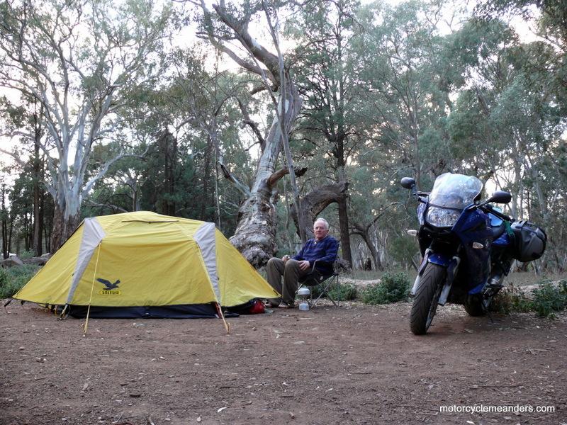 Motorcycle camping gear australia