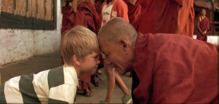 Scene from Little Buddha