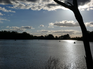 Murray River at Wentworth