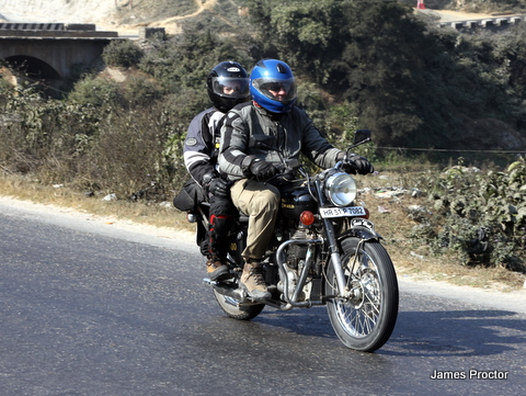 Riding the old Rajpath hwy